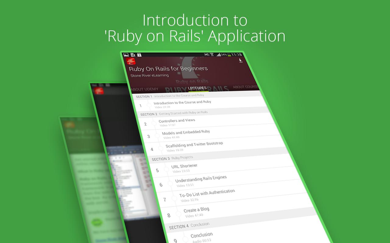 Learn Ruby On Rails by Udemy for Android - APK Download