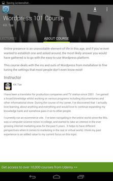 Udemy WordPress Tutorials screenshot 13