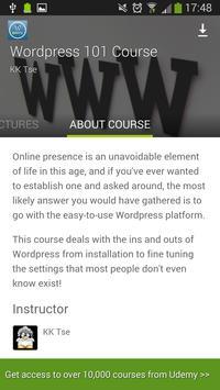 Udemy WordPress Tutorials screenshot 2