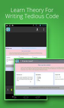 Web Development Tutorials screenshot 1