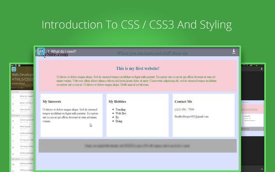Web Development Tutorials screenshot 6