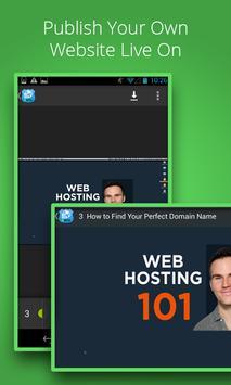 Web Hosting Tutorial screenshot 1