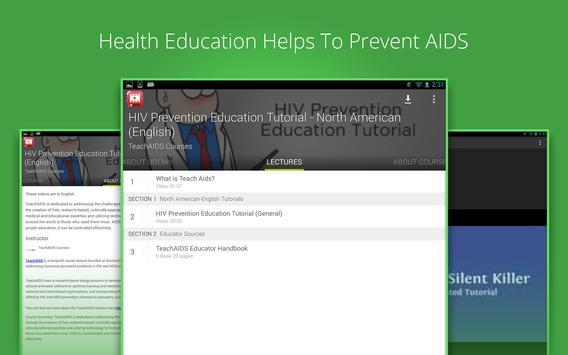 HIV Prevention Tutorials poster