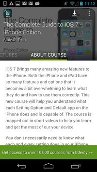 Complete iOS 7 Guide by Udemy screenshot 4