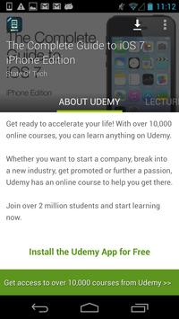 Complete iOS 7 Guide by Udemy screenshot 5