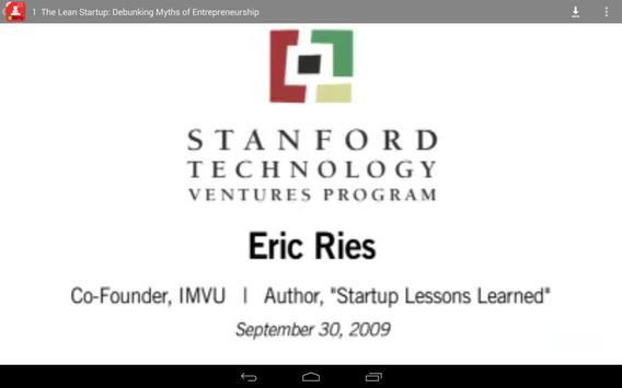 Lean Startup Talk screenshot 3