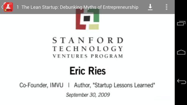 Lean Startup Talk screenshot 15