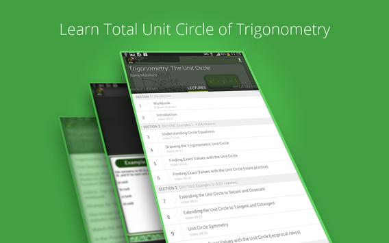 Trigonometry: The Unit Circle screenshot 7