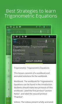 Trigonometric Equations Course poster