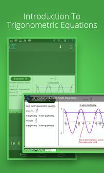 Trigonometric Equations Course screenshot 1