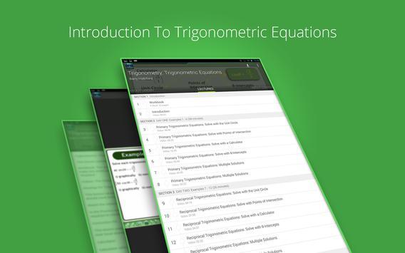 Trigonometric Equations Course screenshot 4