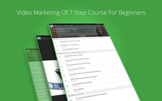 Video Marketing Tutorials screenshot 4