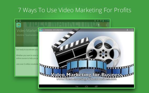 Video Marketing Tutorials screenshot 5