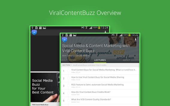 Viral Marketing Course apk screenshot