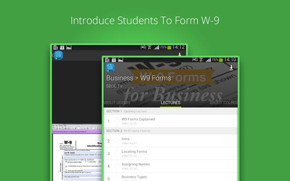 W-9 Forms For Business apk screenshot
