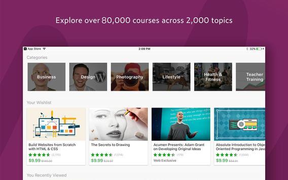 Udemy - Online Courses apk تصوير الشاشة