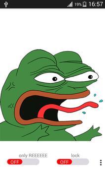 Pepe reeee poster