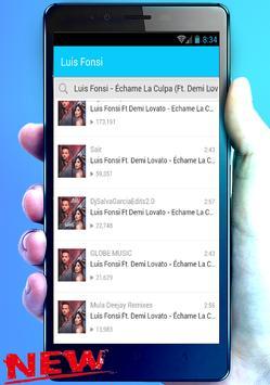 Luis Fonsi, Demi Lovato Nuevo Échame La Culpa mix screenshot 3