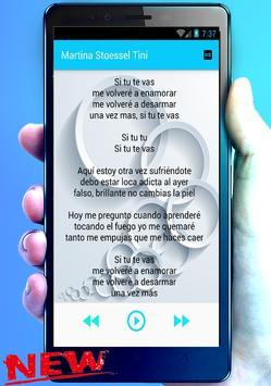 Martina Stoessel (Tini) Te Quiero Más (ft. Nacho) screenshot 3