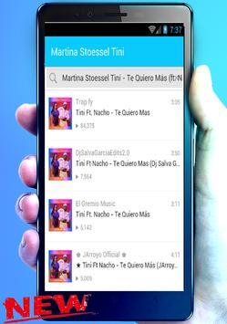 Martina Stoessel (Tini) Te Quiero Más (ft. Nacho) screenshot 4
