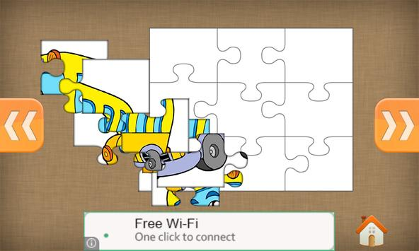 Vehicles Jigsaw Puzzle screenshot 8