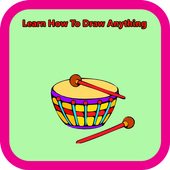 Learn How To Draw Anything icon