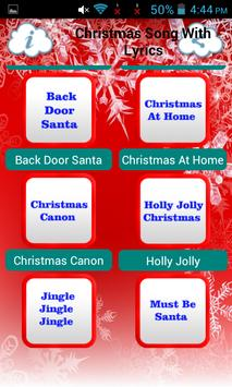Christmas Song With Lyrics screenshot 3