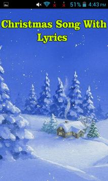Christmas Song With Lyrics poster