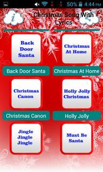 Christmas Song With Lyrics screenshot 11