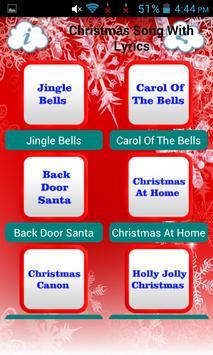 Christmas Song With Lyrics screenshot 1