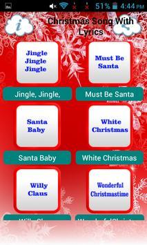 Christmas Song With Lyrics screenshot 2