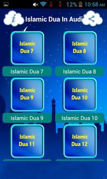 Islamic Dua In Audio screenshot 3