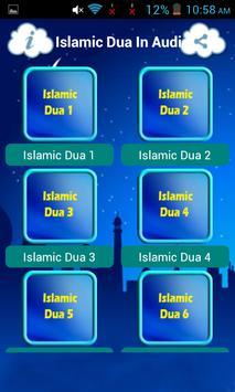 Islamic Dua In Audio screenshot 7