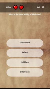 Meliodas Quiz screenshot 1