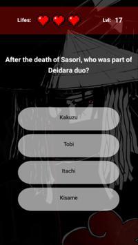 Akatsuki Quiz screenshot 3