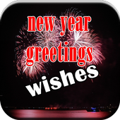 New Year Greeting Wishes icon