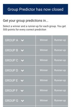 Champions League Predictor apk screenshot