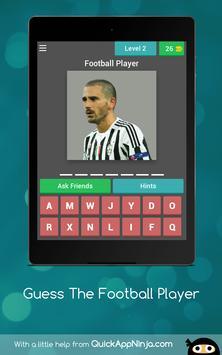 Football: Guess Soccer Players apk screenshot