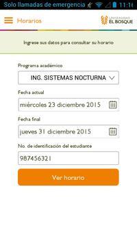 Universidad El Bosque 截图 3