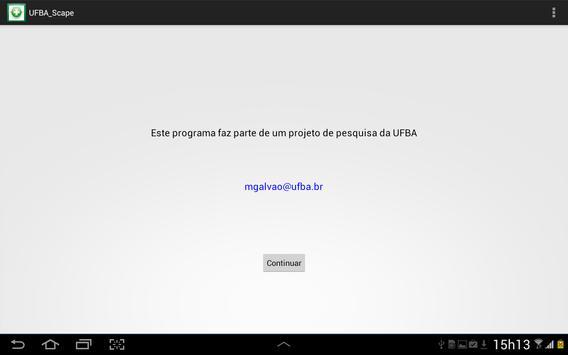 UFBAScape screenshot 5