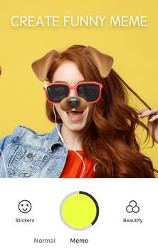 Sweet Snap - سيلفي، كاميرا الجمال، محرر ملصقات apk تصوير الشاشة