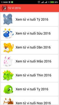Tử Vi Trọn Đời 2016 apk screenshot