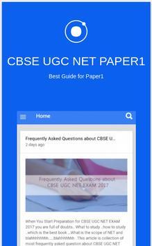 UGC NET PAPER 1 poster