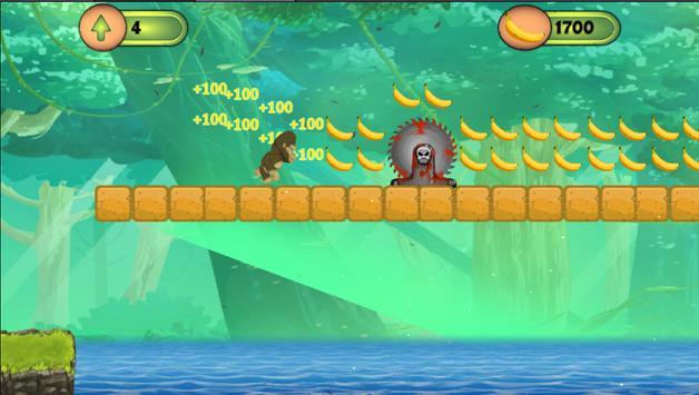 Kong Jungle Run apk screenshot