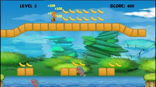 Banana Monkey Run screenshot 5