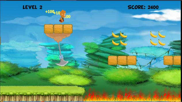 Banana Monkey Run screenshot 1