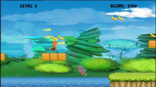 Banana Monkey Run screenshot 2