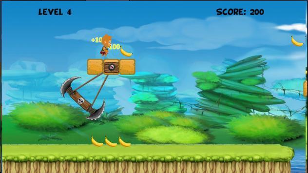 Banana Monkey Run screenshot 3