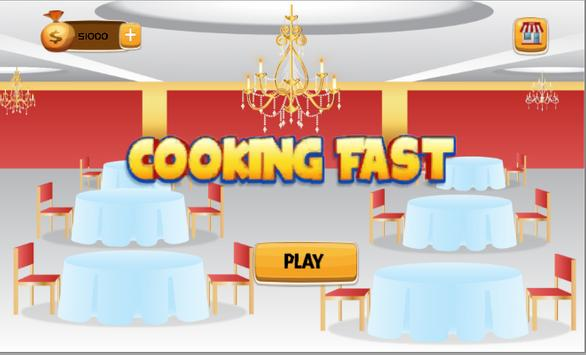 Cooking Fast poster