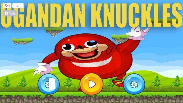 da way Ugandan Knuckles super adventure poster